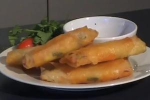Fried Vegetable Spring Rolls