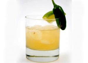 Hot Jalapeno Margarita Cocktail