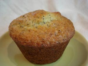 Rhubarb Poppyseed Yogurt Muffins - Part 1