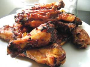 Outdoor-Barbecued Chicken