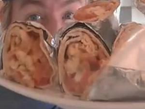 All Day Breakfast Vegetarian Burritos - MYVIRGINKITCHEN