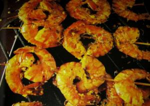 Barbecue Prawn