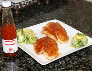 Panko Tilapia With Sweet Chilli Sauce