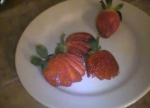 Fan Style Strawberry