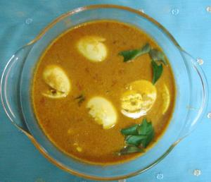 Chettinad Muttai Kuzhambu (Chettinad Egg Curry)