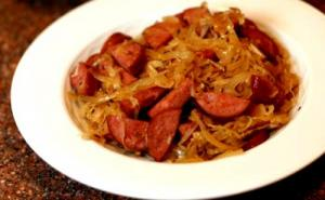 Alsatian Sauerkraut