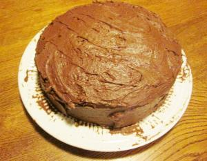 Quick Devil's Food Cake