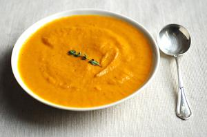 Lean Bacon Carrot Soup