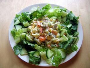 Russian Salad (Salata Roseiki)