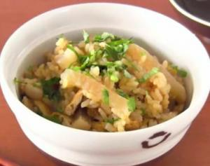 Radish Rice Curry