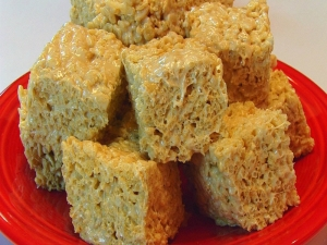 Betty's Salted Caramel Rice Krispies Treats - Christmas
