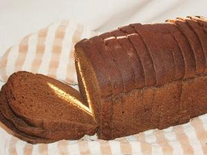 Whole Rye Bread With Caraway Seeds