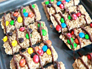 Homemade No-Bake Granola Bars-No-Bake