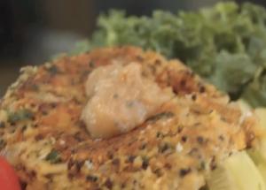 Mediterranean Falafel Quinoa Cakes