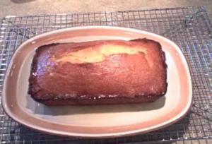 Orange Teatime Loaf