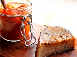 Welsh Rarebit with Tomato Relish
