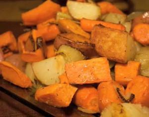 Kosher Oven Roasted Vegetables