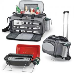 Picnic Time Vulcan Cooler With Grill