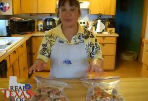 Make Ahead Buffalo Wings - Part 3 - Bagging