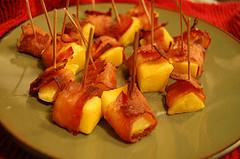 Mango Wrapped with Bacon