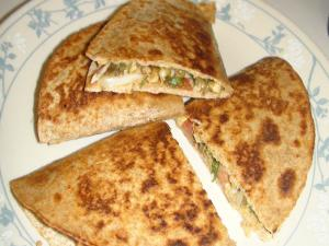 Betty's Southwestern Chicken Quesadilla