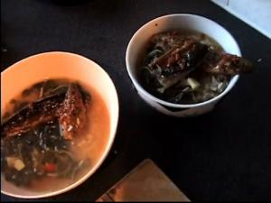 Zuza zak's Weeknight Dinners: Mackerel Rice in Spicy Broth