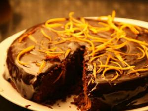 1 Bowl Chocolate Orange Cake