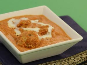 Potato Koftas in Makhani Gravy