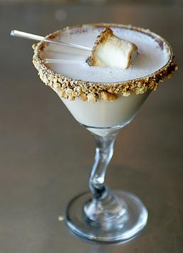 Chocolate Smores Martini