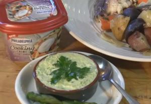 Garlic Creamy Asparagus Sauce
