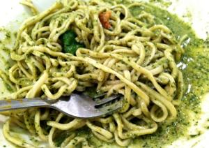 Angel Hair with Rosemary Pesto