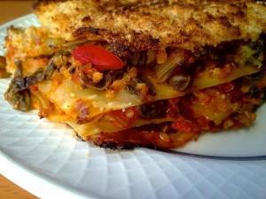 Seafood Lasagna With Spaghetti Squash And Broccoli