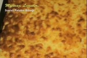Turkish Sosisli Patates Böreği