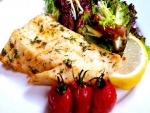 Grilled Herbed Swordfish Steak