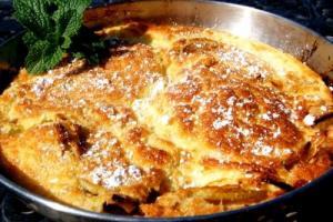 Apple And Cinnamon Oatmeal Pancakes