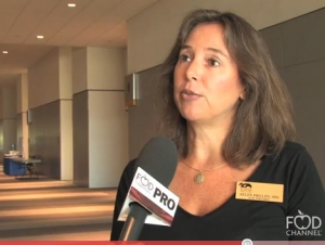 Helen Phillips At School Nutrition Association Show