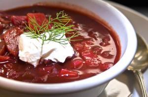 Borscht With Meat