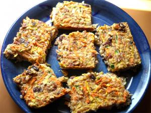 Ginger Carrot Bars