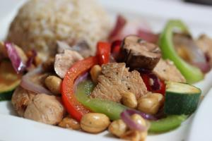 Chino Latino Kung Pao Chicken with Peanuts