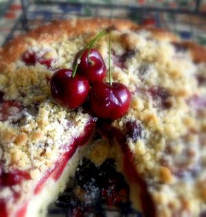 Cherry Topped Refrigerator Cake