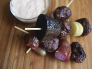 How to Make Fingerling Potato Kebabs
