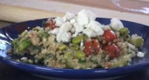 Mediterranean Quinoa with Tabbouleh