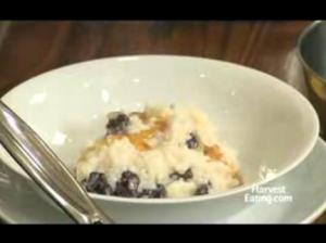 Easy To Make Rice Pudding with Sundried Cherries
