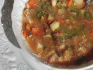 Chat 'n Dish: Soup au Pistou