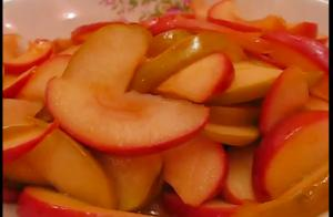 Decadent Honey Apricot Glazed Apples