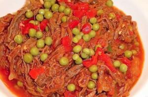 "ROPA VIEJA ""Old Clothe""- Shredded Beef"