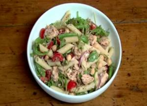 Diabetes: Salmon Pasta Salad