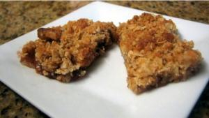 Oat and Jam Bars