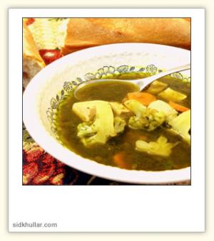 Lemon and Spinach Soup