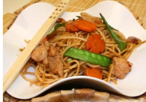 Pancit Guisado With Oyster Sauce